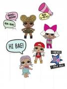 Kit photobooth LOL Surprise™ 8 accessoires