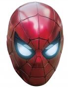 Masque en carton Iron Spider Avengers Infinity War™ adulte