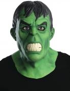 Masque en latex deluxe Hulk™ adulte