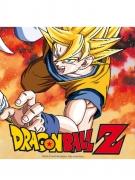 20 Serviettes en papier Dragon Ball Z™ 33 x 33 cm