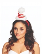 Mini chapeau bonnet en spirale adulte