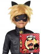 Perruque et masque Chat Noir Miraculous™ enfant