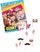 Kit photobooth géant 12 accessoires