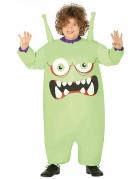 Déguisement gonflable monstre vert enfant