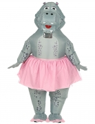 Déguisement gonflable hippo ballerine adulte