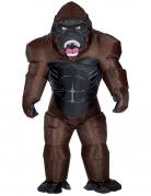 Déguisement gonflable gorille adulte