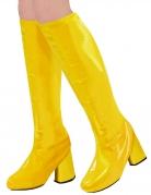 Surbottes rétro années 60 jaunes