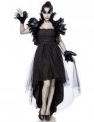 Déguisement sorcière corbeau femme