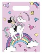 6 Sacs cadeaux Minnie et la licorne™
