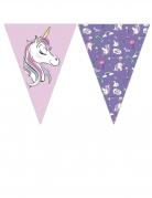 Guirlande 9 fanions Minnie et la licorne™