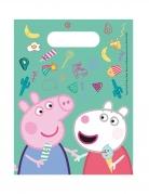 6 Sacs cadeaux Peppa Pig™
