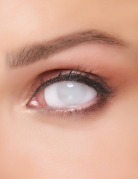 Lentilles fantaisie sclera œil blanc adulte