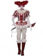 Déguisement clown psycho femme