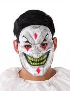 Masque PVC clown démoniaque adulte