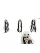 Guirlande têtes de poupées 153 cm