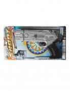 Pistolet de police argenté
