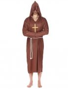 Déguisement moine marron clair grande taille homme