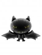 Ballon aluminium chauve souris noire 80 x 52 cm