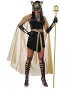 Déguisement déesse féline de l'Egypte femme