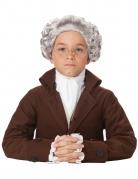 Perruque baroque grise enfant