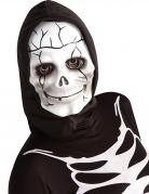 Masque squelette avec cagoule enfant