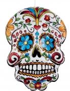 Crâne Dia de los Muertos gonflable 100 cm