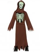 Déguisement moine squelette enfant