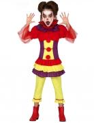 Vous aimerez aussi : Déguisement clown maléfique multicolore fille