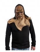 masque monstre en latex et capuche adulte