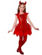 Déguisement diablesse rouge fille