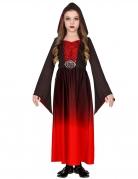 Déguisement gourou vampire rouge fille
