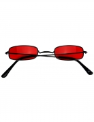 Lunettes vampire rouge