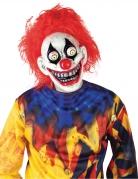 Masque clown yeux exorbités adulte