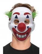 Masque clown fou adulte