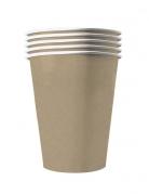 20 Gobelets américains carton recyclable kraft 53 cl
