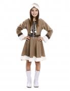 Déguisement robe esquimau fille