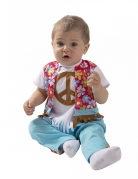 Déguisement petit hippie bébé