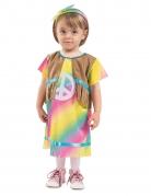 Déguisement robe petite hippie bébé