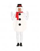Déguisement bonhomme de neige adulte