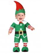 Déguisement petit lutin de Noël bébé