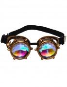 Lunettes avec verres prismes steampunk adulte