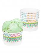 Vous aimerez aussi : 6 Pots de glace en carton lama blancs 27 cl