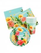 Vous aimerez aussi : Kit vaisselle jetable tropical paradise 24 pièces
