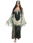 Déguisement robe longue pirate fantôme femme