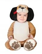 Déguisement petit chien marron bébé