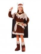 Déguisement viking marron fille