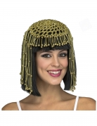 Perruque courte reine d'Egypte adulte
