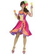 Déguisement robe danseuse de rumba femme