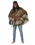 Poncho indien luxe adulte