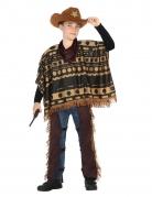 Déguisement de cowboy avec poncho garçon